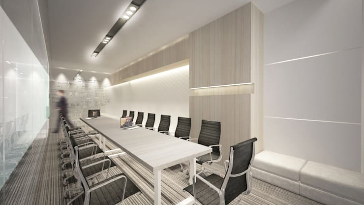 Meeting Room D:  Ruang Kerja by ARAT Design
