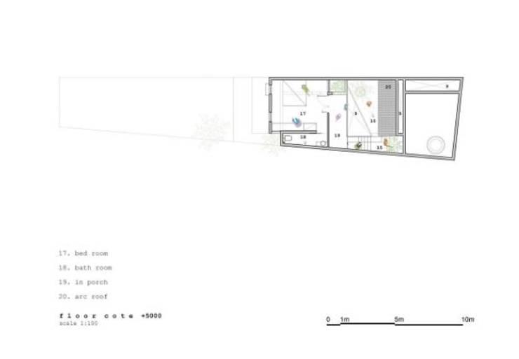 Bản vẽ thiết kế mặt bằng tầng 3:  Nhà gia đình by Công ty TNHH Xây Dựng TM – DV Song Phát