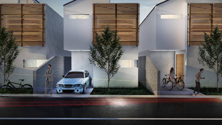 FACADE:  Rumah by ARAT Design