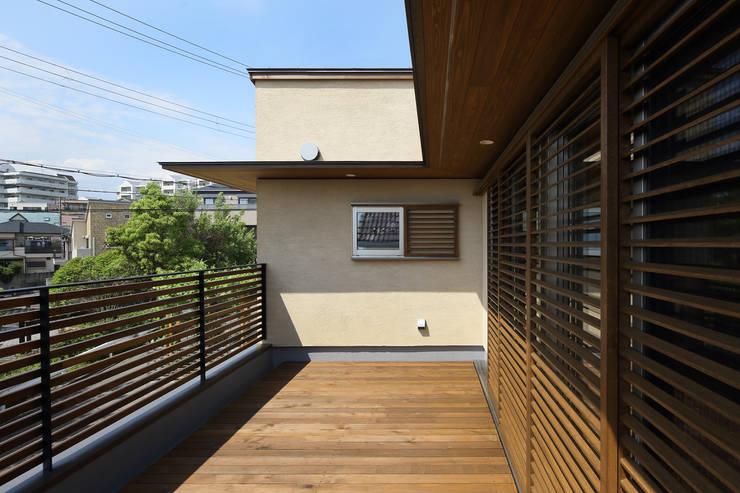 Terrace by アトリエdoor一級建築士事務所,
