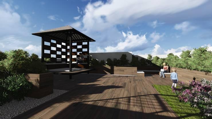Rooftop 4:  Atap by ARAT Design