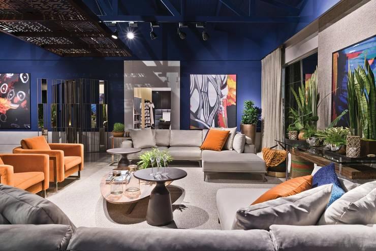 Elaine Zanon e Claudia Machado: Sala de estar  por Artefacto Curitiba