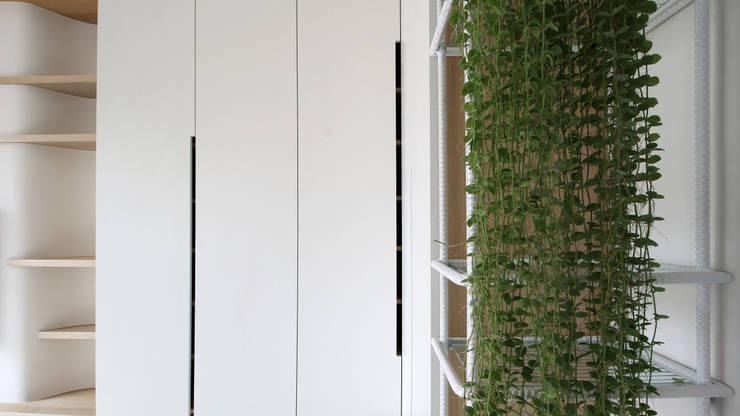 Phòng khách phong cách Bắc Âu bởi 樂沐室內設計有限公司 Bắc Âu