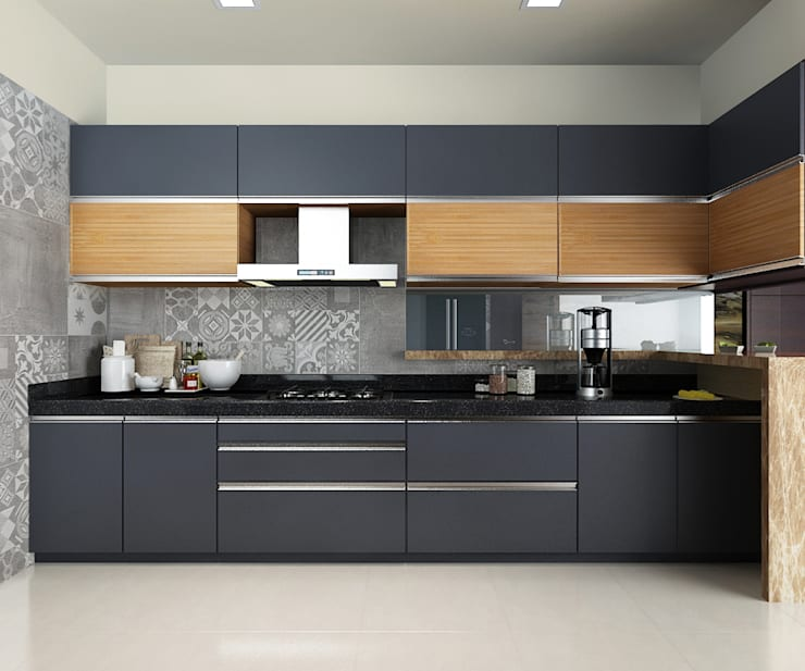 Subramaniam krishnan:  Kitchen by Neelanjan Gupto Design Co