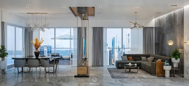 Living room by LEAF Design , Modern