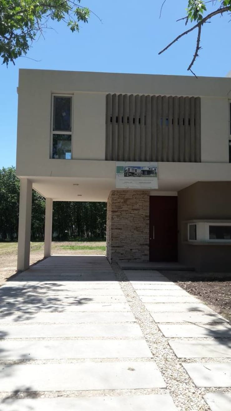 Vivienda M+S GB: Casas de estilo  por Arquitectura Bur Zurita,