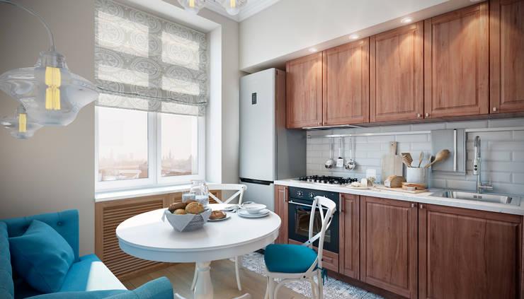 Дружба поколений: Кухни в . Автор – CO:interior