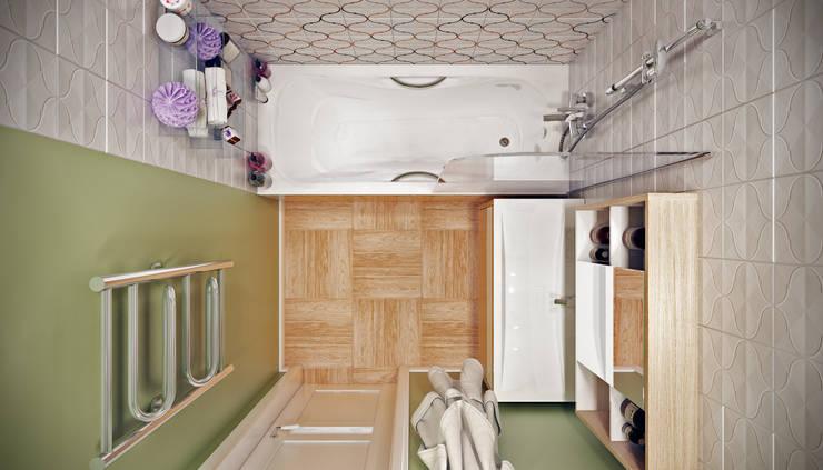 Дружба поколений: Ванные комнаты в . Автор – CO:interior