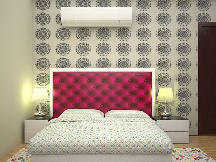 Master bedroom : modern Bedroom by Florence Management Services