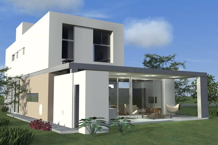 Houses by Arquitectura Bur Zurita, Modern