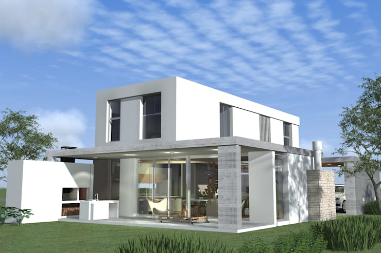 บ้านและที่อยู่อาศัย โดย Arquitectura Bur Zurita, โมเดิร์น