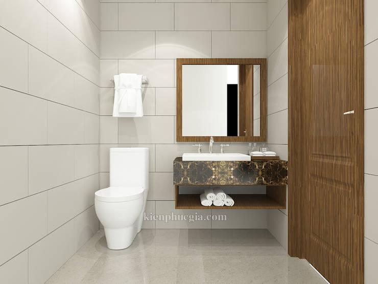Căn hộ Gold View:  Phòng tắm by Kiến Phúc Gia