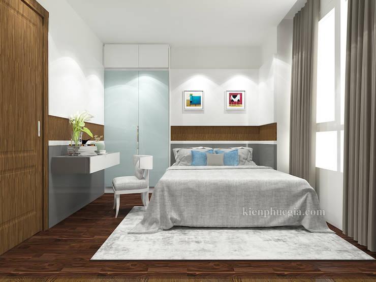 Căn hộ Gold View:  Phòng ngủ by Kiến Phúc Gia