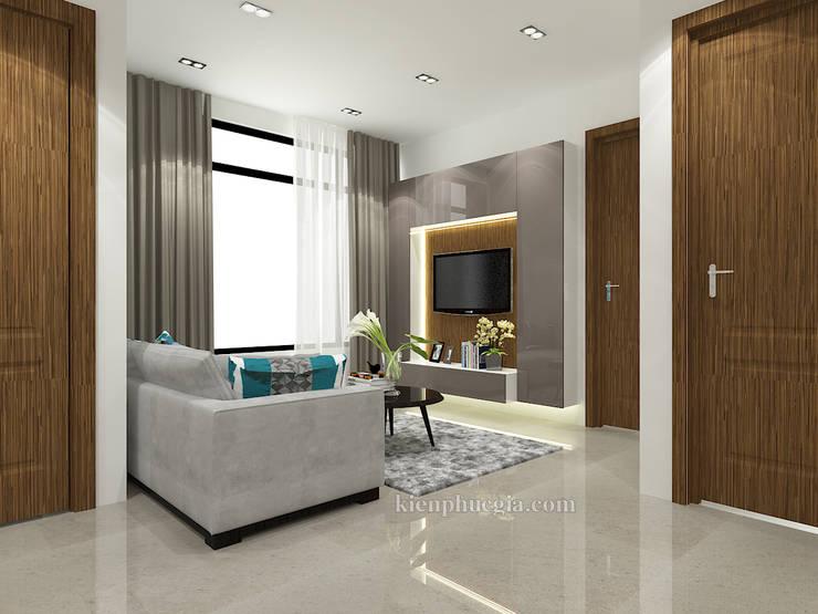 Căn hộ Gold View:  Phòng khách by Kiến Phúc Gia