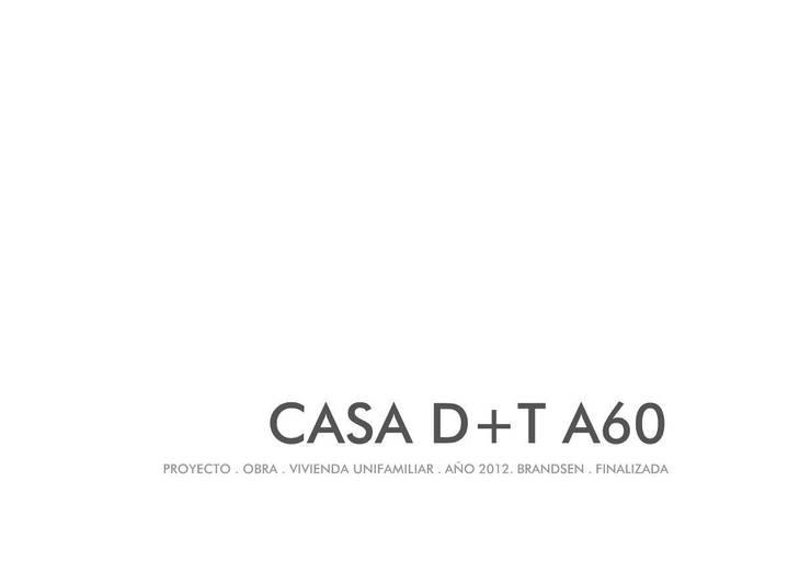 Vivienda D+T AREA60: Pisos de estilo  por Arquitectura Bur Zurita,