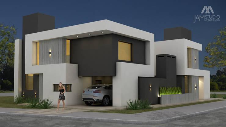 110GON: Casas unifamiliares de estilo  por JAMStudio