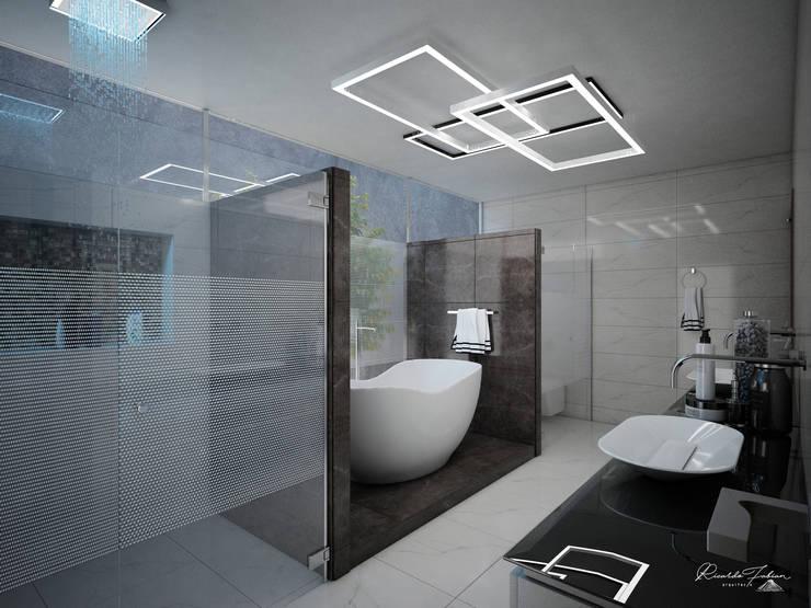 Baño Principal: Baños de estilo  por Grupo ARK