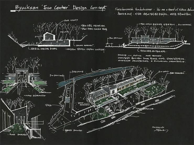 컨셉스케치: (주)건축사사무소 예인그룹의  바닥,