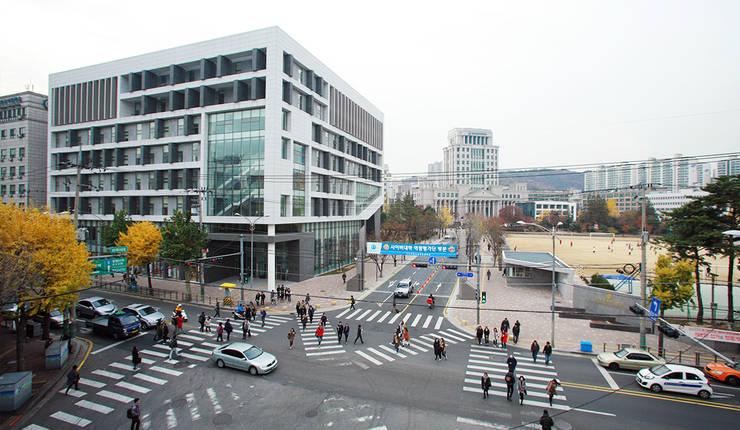 전경: (주)건축사사무소 예인그룹의  계단,