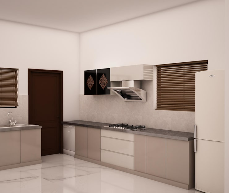 Modern kitchen:  Kitchen by NVT Quality Build solution