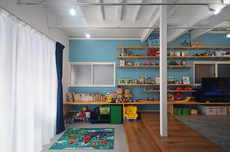 غرفة الاطفال تنفيذ 大塚高史建築設計事務所