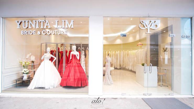 Yunita Lim Couture: Ruang Komersial oleh Studio Alo, Minimalis