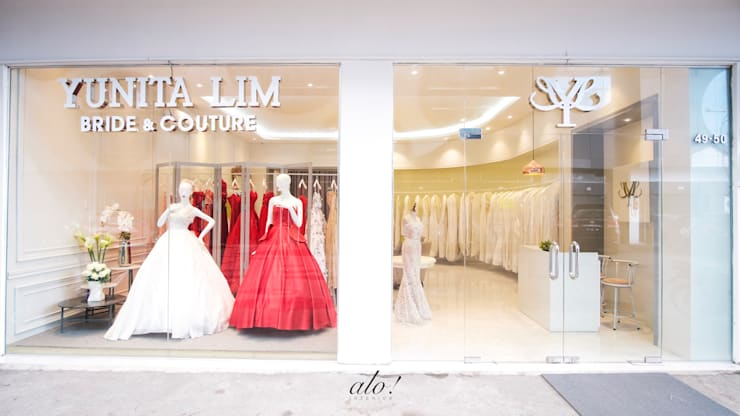 Yunita Lim Couture:  Ruang Komersial by Studio Alo