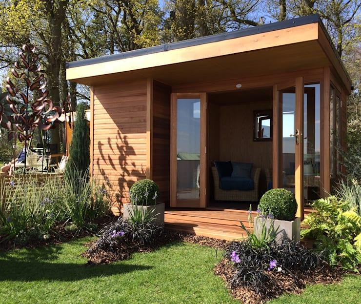 20 Summer House Design Ideas: The Oxford Contemporary Summerhouse By Chelsea