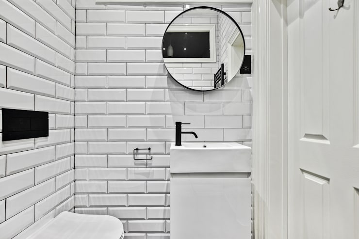Baños de estilo  por BathroomsByDesign Retail Ltd