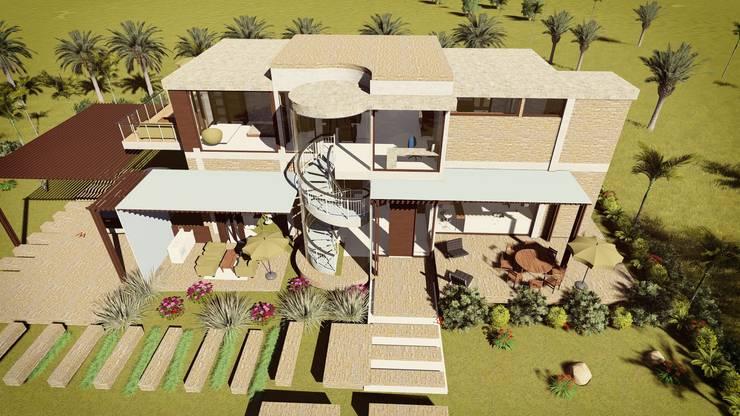 Casa Moncada:  de estilo  por Arquitectura su c