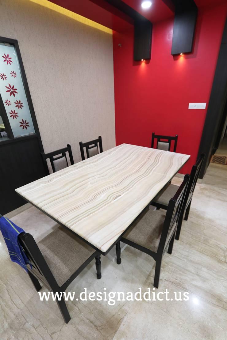 Dining area: modern Dining room by Designaddict