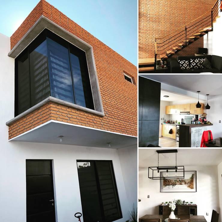 Casa Chichenitza : Casas de estilo moderno por Urbánica Desarrollos S.A. de C.V.