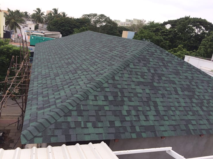 Hunter Green Pro:  Roof by Sri Sai Architectural Products