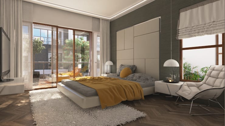 Bedroom Design :  Bedroom by NVT Quality Build solution
