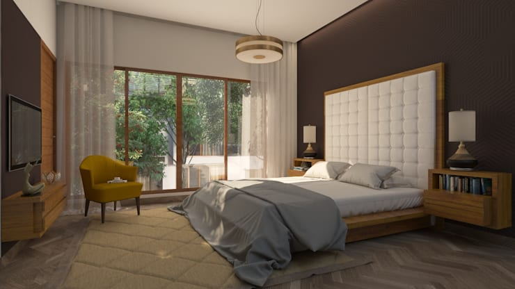 ​Bedroom Design :  Bedroom by NVT Quality Build solution