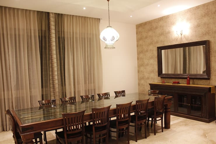 Dinning Room :  Dining room by RA LIFESTYLES