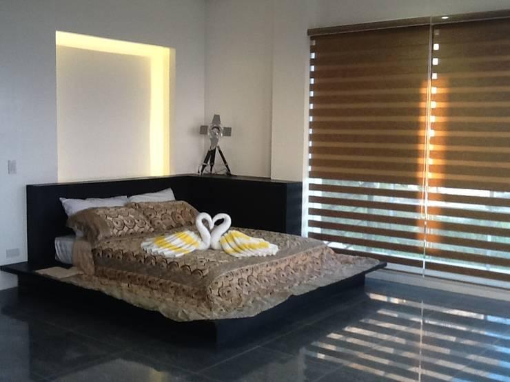 غرفة نوم تنفيذ MKC DESIGN