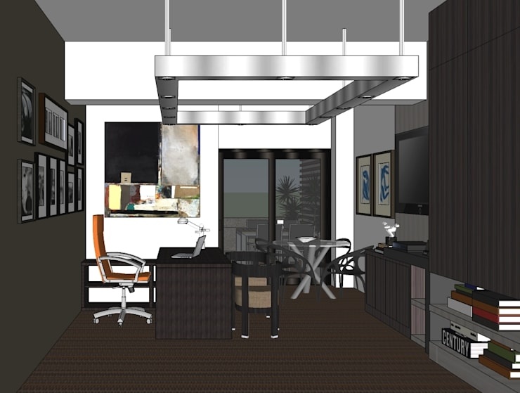 2013 PROJECTS:  Media room by MKC DESIGN