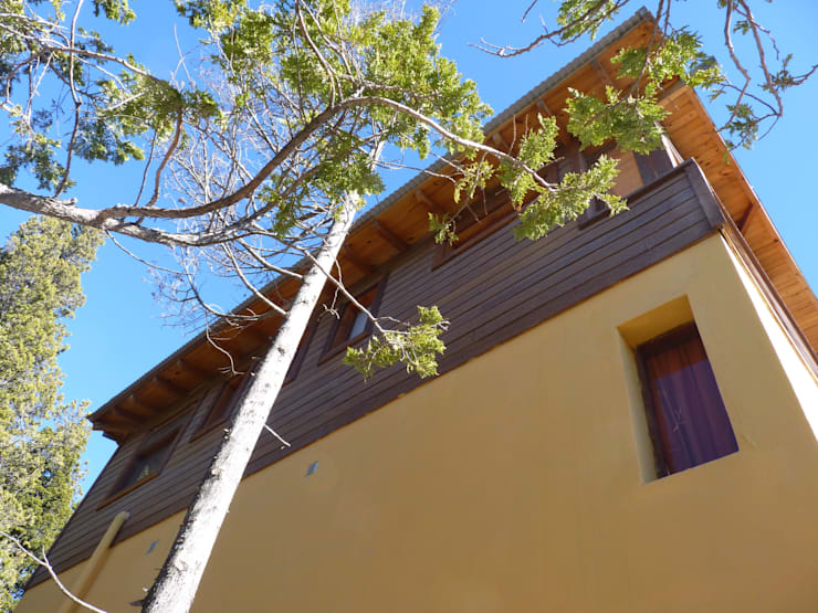Ampliación El Soñador: Casas de estilo  por ARQUITECTA YAZMIN RIVAS CEA,
