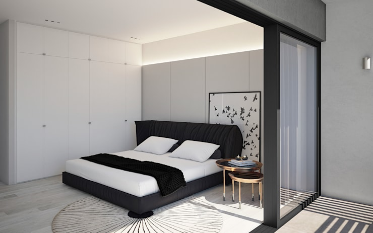 The Arin:  Bedroom by Cleo Architecture Studio, Modern