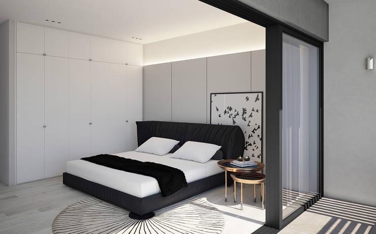 غرفة نوم تنفيذ Cleo Architecture Studio