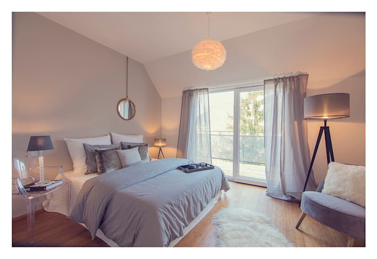 Home Staging einer Wohnung in 1140 Wien die zu VERKAUFEN ist !!!:  Schlafzimmer von VIENNA HOME STAGING