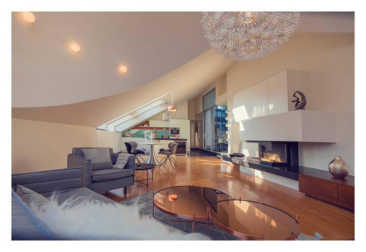 Home Staging einer Wohnung in 1140 Wien die zu VERKAUFEN ist !!!:  Wohnzimmer von VIENNA HOME STAGING