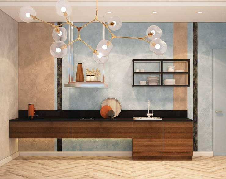 浴室 by ДизайнМастер