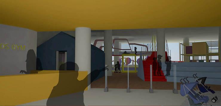 Escadas  por (주)건축사사무소 예인그룹