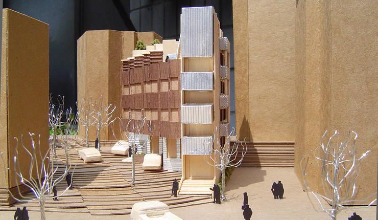 모형: (주)건축사사무소 예인그룹의  계단,
