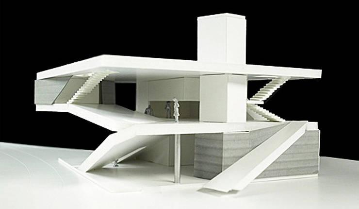 Treppe von (주)건축사사무소 예인그룹, Modern Glas