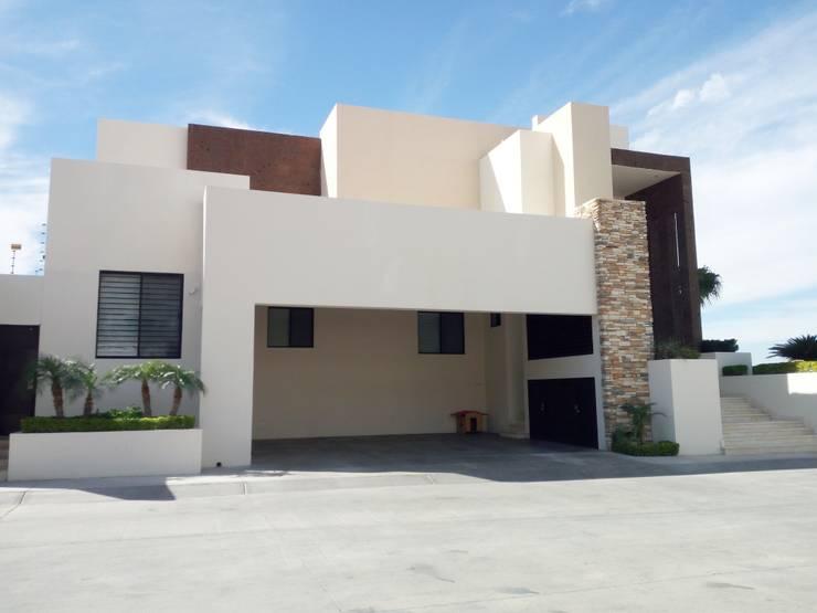Casas de estilo  de Acrópolis Arquitectura, Moderno