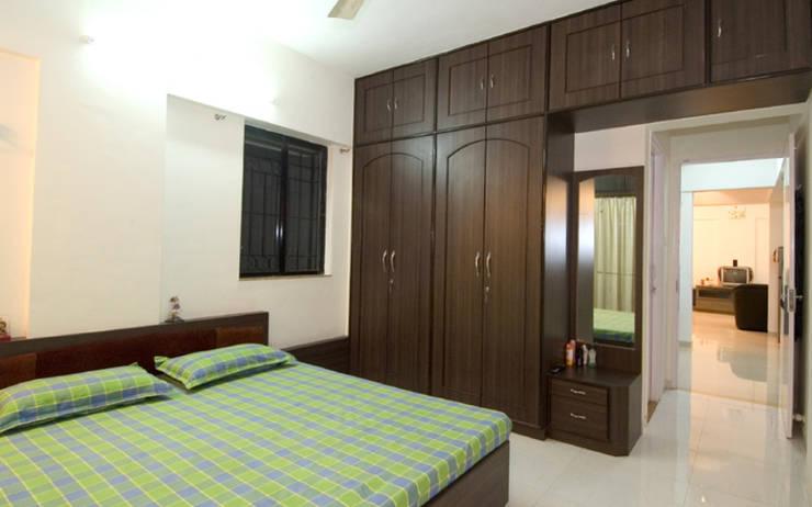 Interior: modern Bedroom by Samruddhi Interiors