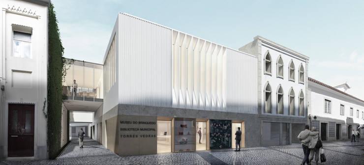Biblioteca Municipal de Torres Vedras (Concurso) – RISCO:   por Onstudio Lda,Moderno